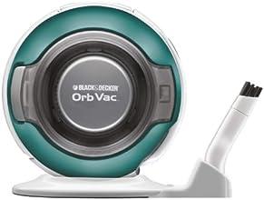 Black & Decker ORB4810B-CA 4.8-Volt Orb Vac Trilingual (Aqua)