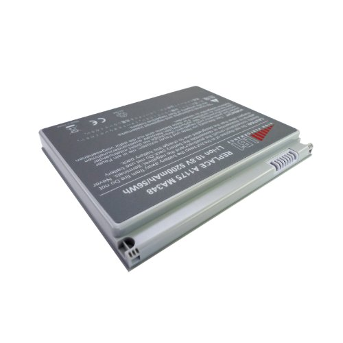 LB1 Extraordinary Performance Battery for Apple MacBook Pro 15 15 inch A1175 5200mAh 6 Cells Replacement Laptop Notebook Battery replace A1175 MA348 MA348*/A MA348G/A MA348J/A -- Replacement Battery 18 Months Agreement