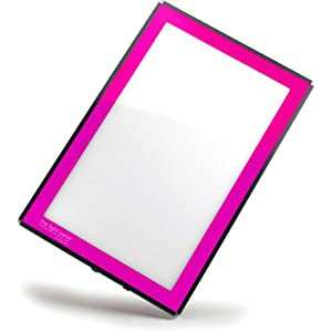 Porta-Trace LED Light Panel, Pink Frame, 11-by-18-Inch