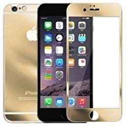 Kapa Electroplated Mirror Front + Back Tempered Glass Screen Protector for iPhone 6 4.7