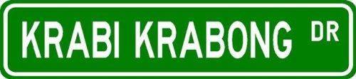 Krabi Krabong Street Sign ~ Martial Arts Gift ~ Aluminum