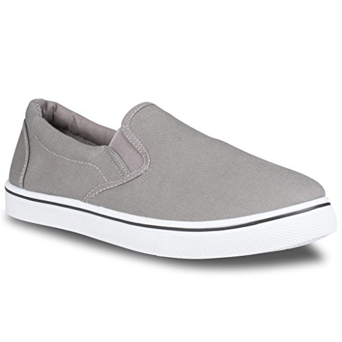 Influence Men's Gore Slip-On Casual Sneaker, GREY, Size 10 (Cheap Shoes For Men compare prices)