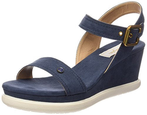 WranglerIRIS STRIPES - Sandali Donna , Blu (Blau (16  Navy)), 40