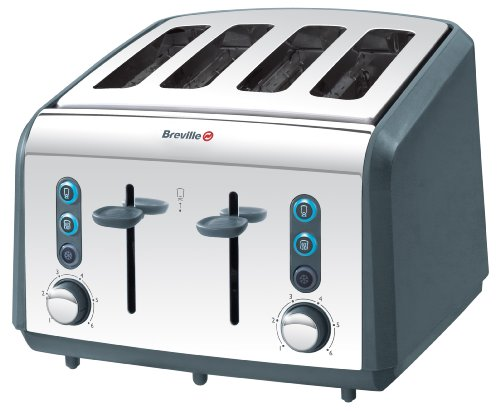 Breville VTT206 Polished Stainless Steel 4 Slice Toaster from Breville