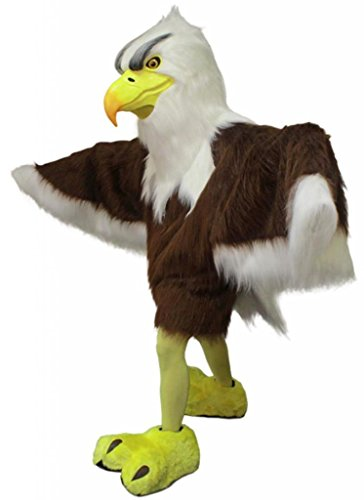 Costume City Men's Wise American Eagle Mascot One Size Black