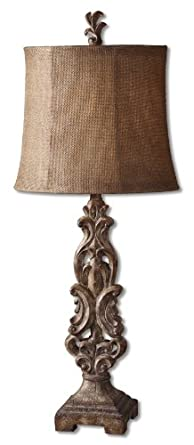 Uttermost 32 12 inch tall gia buffet lamp table lamps home for 12 inch table lamps