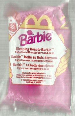 Sleeping Beauty Barbie, Mcdonalds Happy Meal - 1