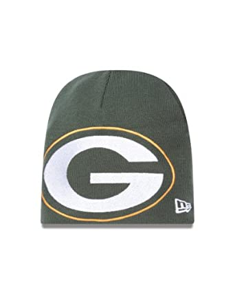 NFL Green Bay Packers Big One Two Cuffless Knit Cap by New Era