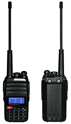 Coodio-C96-Funkgert-5-Watt-Sendeleistung-VHFUHF-2-x-128-Kanle-Doppelt-Walkie-Talkie-PMR-Funkgerte-2800mAh-Akku-Standladeschale-Handfunkgert-Paar