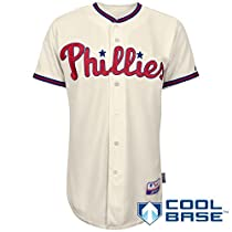 Philadelphia Phillies Authentic Alternate Cool Base Jersey