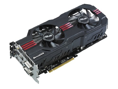 ASUS GTX570 DirectCU II graphics cards with dual-fan cooling performance, ENGTX570 DCII/2DIS/1280MD5