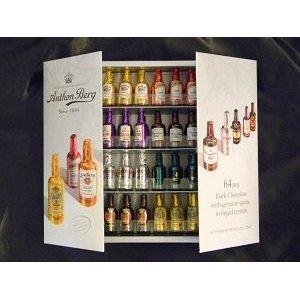 Anthon Berg Chocolate Liqueurs with Original Spirits 64 pcs. Gift Box