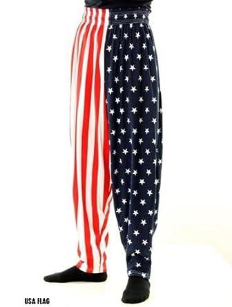 BAGGY GYM WORKOUT PANTS-USA FLAG PRINT by INTERNATIONAL BAGGYZ