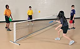 Sportime Deluxe QwikNet for Badminton, Racquet Sports, or Volleyball