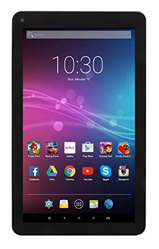 """Astro Tab A935 - 9"""" Quad Nucleus Android 5.1 Lollipop Tablet PC with 1GB RAM, 8GB Storage, Bluetooth 4.0, 1024x600 9 inch screen, Google Play (Black)"""