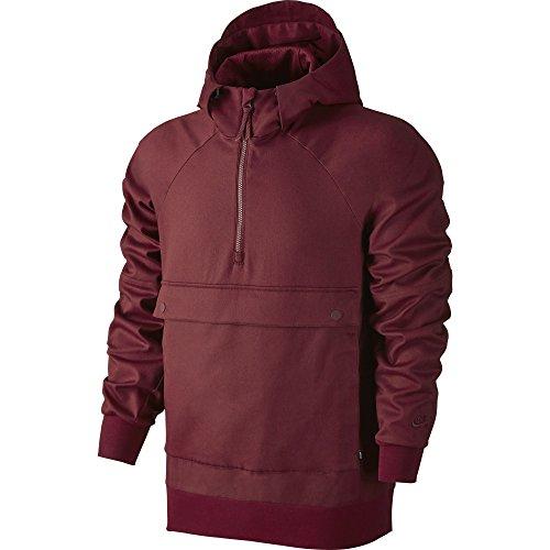 Nike Sb Everett - Anorak da uomo, colore Rosso, taglia L
