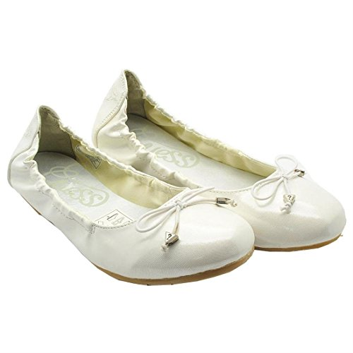 GUESS Bambina Ballerine Bianco Size: 39