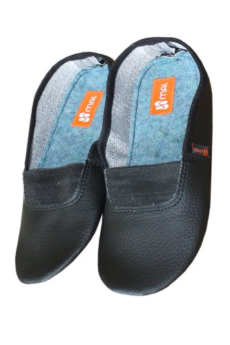 Gym shoes (Sports Slippers) for children, Color:Black