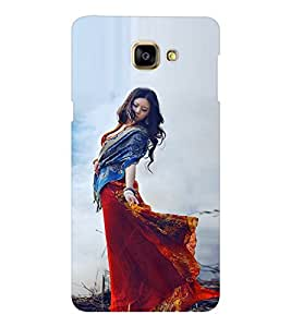 EPICCASE Traditional Look Girl Mobile Back Case Cover For Samsung Galaxy A9 (Designer Case)