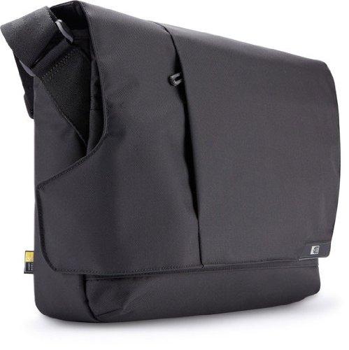 Case Logic Mlm-114 14.1-Inch Laptop /Macbook Air / Pro Retina Display And Ipad Messenger (Black)