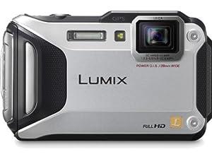 Panasonic Lumix DMC-TS5S 16.1 MP Tough Digital Camera with 9.3x Intelligent Zoom (Silver)