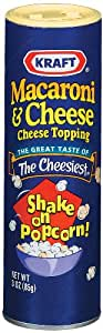 Kraft Macaroni & Cheese Topping, 3-Ounce Cans (Pack of 6)