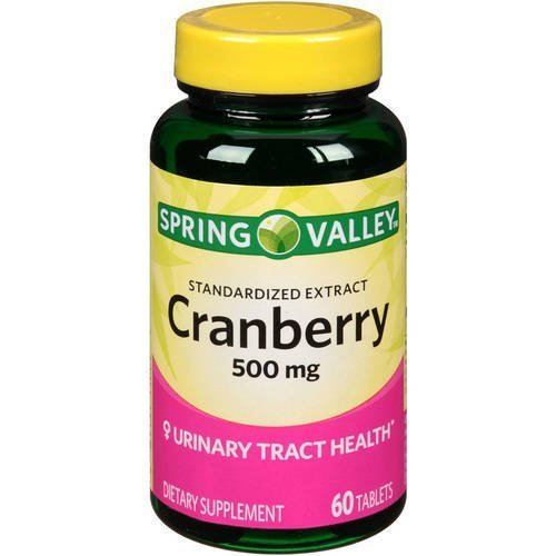 spring-valley-cranberry-500-mg-standardized-extract-60-tablets-by-wal-mart-stores-inc