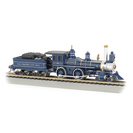 Bachmann Trains American 4-4-0 And Tender - B And O 1890'S Version (Royal Blue) front-261508