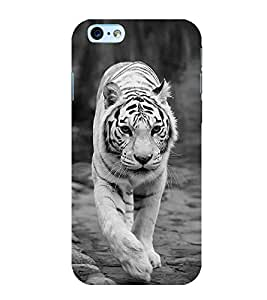 White Tiger 3D Hard Polycarbonate Designer Back Case Cover for Apple iPhone 6s Plus :: Apple iPhone 6s+