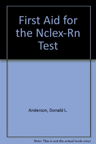 1st Aid for the Nclex-Rn Computerized Adaptive Testing/Book and Disk