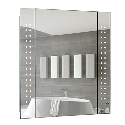 Illuminated Mirror 60 Led Light Bathroom Mirror With