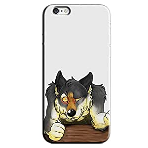 WOLF DRAWING BACK COVER FOR APPLE IPHONE 6S PLUS