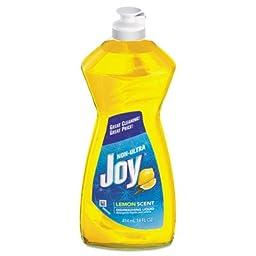 PGC21737 Dishwashing Liquid, 14 oz Bottle, Lemon Scent
