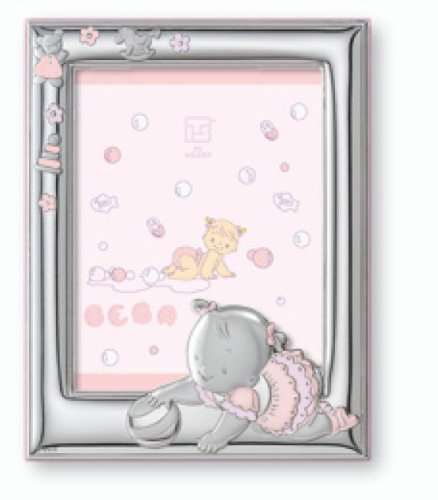 Silver Touch USA Sterling Silver Picture Frame, For A Girl (Discontinued by Manufacturer)