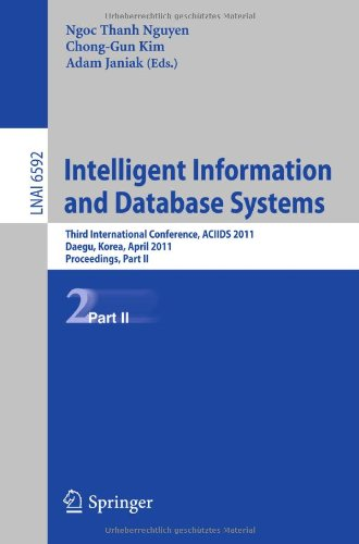 Intelligent Information and Database Systems: Third International Conference, ACIIDS 2011, Daegu, Korea, April 20-22, 2011, Proceedings, Part II