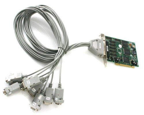 StarTech.com PCI8S9503V 8 Port PCI RS232 Serial Adapter Card High Speed 16950 - Cable Included