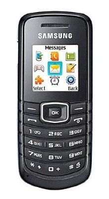 Samsung E1086 Unlocked Dual-Band Phone with FM Radio, MP3 Ringtones, Organizer, SMS and Mobile Tracker--International Version with Warranty (Black)