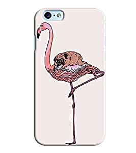 Blue Throat Bird With Dog Printed Designer Back Cover/ Case For Apple iPhone 6 Plus