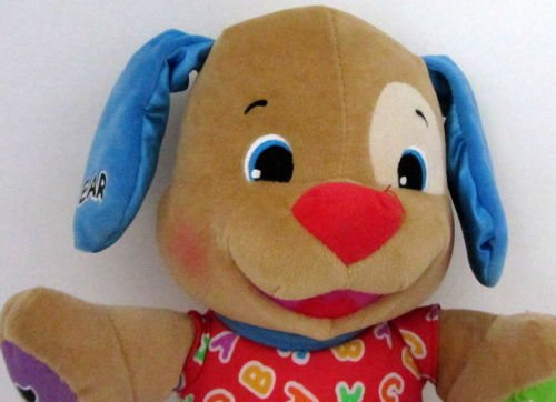 Learn Laugh Love To Play Educational Interactive Puppy Plush - Fisher Price - 1