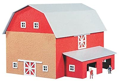 1517 Barn w/Silo & Chicken Coop Kit