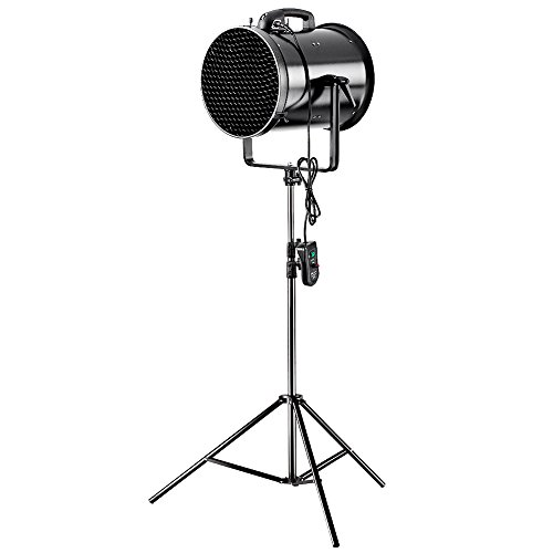 Neewer® Professional 300W Metal Adjustable Fan Wind Machine with Honeycomb and U-shaped Frame for Studio Photography Shooting (JB-30H) (Wind Machine Fan compare prices)