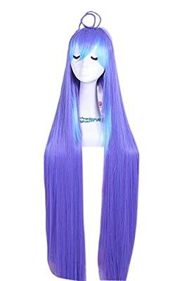 120cm long Mixed Color Acchi kocchi Miniwa Tsumiki cosplay wig C47