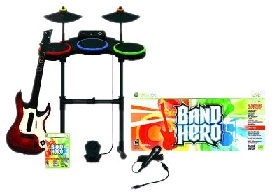 Xbox 360 Band Hero featuring Taylor Swift - Super Bundle
