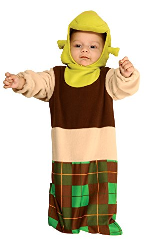 0-6 Months - Shrek Bunting Baby Costume