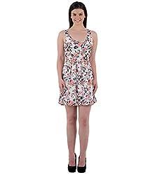 Beyond Origins Women's Dress (SD003_Multicolor_Large)