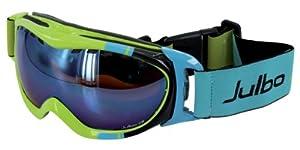 Julbo Superstar Goggle (Cat. 3 Flash Blue- Orange Lens, Green)