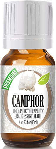 Camphor 100% Pure, Best Therapeutic Grade Essential Oil - 10ml