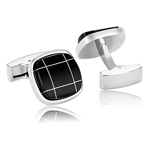 alimab-jewelry-mens-cuff-links-brass-round-square-high-polished-black-stainless-steel-men-cufflinks