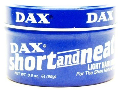 Dax Short & Neat Light Dress 3.5 oz. (3-Pack) with Free Nail File