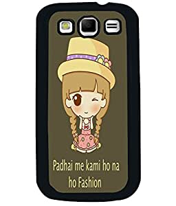 PRINTVISA Fashion Premium Metallic Insert Back Case Cover for Samsung Galaxy S3 - I9300 - D5967